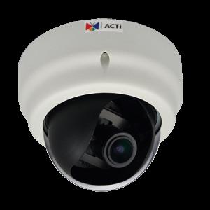D62A 2MP Indoor Dome with SLLS, Vari-focal lens, f2.8-12mm/F1.4, H.264, 1080p/30fps, DNR, Audio, MicroSDHC/MicroSDXC, PoE, IK09, DI/DO