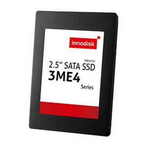 "DES25-08GM41BW1SC 8GB InnoDisk Industrial 2.5"" 3ME4 SSD, SATA3, MLC, Toshiba IC, R/W 140/25 MB/s, Wide Temperature -40...+85 C"