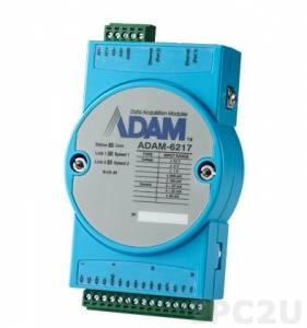 ADAM-6217-AE 8-ch Isolated Analog Input Modbus TCP Module