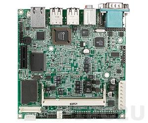 NANO-8044-1100 Nano-ITX Intel Atom Z510 1.1GHz CPU Card with VGA, LVDS, Gb LAN, CF, 1xSD, 1xIDE, 6xUSB, Audio, 1xPCI-Ex1
