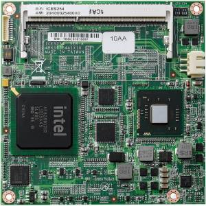ICES-254-2800 COM Express Type 2 compact module with Intel Atom N2800 1.86GHz/ ICH10R/ DDR3/ GbE/ 4SATA/ IDE/ LVDS/ 5x PCIe and HDMI