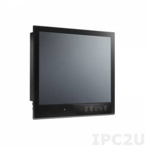 MPC-2197X 19 inch fanless panel computer with Intel Core i7 processor 2610UE 1.50GHz CPU, NMEA 0183, SSD trays, dual AC/DC power inputs, tap bonding
