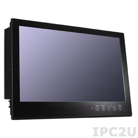 MD-224X 24-inch display, 16:9 aspect ratio, full HD (1920x1080), LED backlighting, RS-232 & RS-422/485 serial ports, dual-power supply (AC/DC)