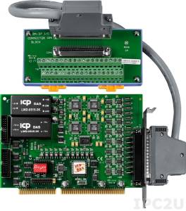 ISO-DA16/S ISA 16 DAC w/Isolation, DN-37 Includes one CA-3710 D-Sub cable