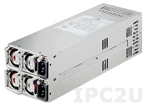 ZIPPY R2W-6460P 2U Redundant AC Input 460+460W ATX Industrial Power Supply, EPS12V, with Active PFC, RoHS