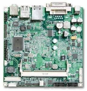 NANO-8045L-1100 Nano-ITX Intel Atom Z510 1.1GHz CPU Card with DVI-D, LVDS, Gb LAN, CF, 2xUSB, Audio, low profile