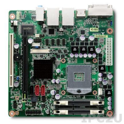 MI-220 Mini-ITX Intel Core i7/i5/i3, chipset Intel QM67, up to 8GB DDR3 1066/1333 SODIMM, VGA/DVI/LVDS/HDMI, 2xGb LAN, 3xRS-232, 3xRS-232/422/485, 6xUSB 2.0, 1xPCI, 1xPCIe x16, 1xPCIe Mini, Audio in/out/mic
