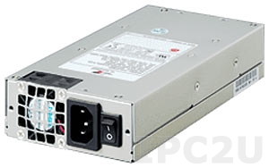 ZIPPY P1U-6200P (B000260201) 1U AC Input 200W ATX Industrial Power Supply, with Active PFC, RoHS