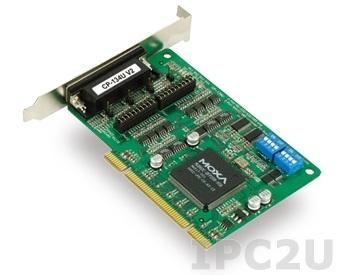 CP-134U-T 4 Port UPCI Board, RS-422/485, Wide Temperature -40...+85°C