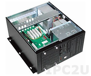 "GHB-082-8 Wallmount Chassis, 8 Slots, 2x5.25""/1x3.5""/1x3.5"" HDD Drive Bays, without P/S"