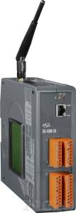 GD-4500D-2G Mini-Programmable 80MHz Industrial Controller, 512kb Flash, 512kb SRAM, 2xRS232, 1xRS485, GPRS/GSM, Ethernet, MiniOS7, LCD Display, plastic case