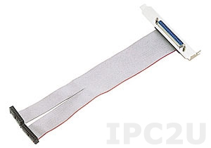 ACL-10337 Two 20-pin Header to DB-37 PC Back Panel, PVC, 20V