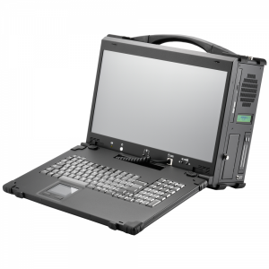 "iROBO-ARP840-FHD-U4M71 Industrie Portable Workstation, 17.3"" 1920x1080 TFT LCD, Intel Core-i5 7500 3.4 GHz CPU, Intel H110 Chipset, 8GB DDR4 RAM (max.32GB), 256GB SSD, DVDRW, HDMI or DP for 2nd display, 2xGbit LAN, 8xUSB, 1xPCIe x16 / 3x PCIe x1, 600W PSU"