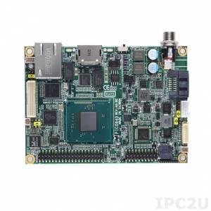 PICO840HGA-E3845 w/acc PICO840 with Intel Atom E3845 1.91GHz, LVDS/HDMI, Gigabit Ethernet, 2xCOM, 4xUSB, Audio, heat-spreader, heatsink, I/O stacking board AX93283 and cables