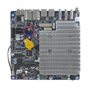 EMX-KBLU2P-610-A1R Mini-ITX with Intel Core i3-6100U 2.3Hz CPU, Up to 32GB DDR4-2133MHz, 2xSATA 3, HDMI, 2xDP, LVDS, 2xGb LAN, 8xUSB, 6xCOM, 16-bit GPIO, 1xPCIe x1 1xM.2 key B, 1xM.2 key A, SIM, Audio, 12-24V DC, -20..70C Op.Temp.