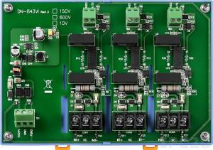 DN-843VI-600V isolation 3-channel Voltage Input Attenuator