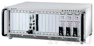 "cPCIS-2633/AC 19"" 3U cPCI Sub-system w/4U Enclosure, 32-bit 13-slot Backplane cBP-3213P with Bridge Card cBP-R3213, with 3x PSU cPS-H325/AC"