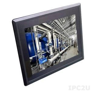 "STR52260-00C 15.1"" TFT LCD Waterproof Panel PC,Full IP66, Resistive Touch Screen, Intel Atom E3845 1.91GHz,4GB DDR3L RAM, 2xGb LAN, 4xCOM, 4xUSB, Audio, 1x2.5"" Drive Bay, 2xMini-PCIe, 9-36V DC-In"