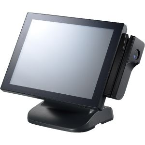"NPT-5851-110 Fanless Point-of-Sales 15"" TFT LCD Terminal, Intel B940 2.0GHz, 2GB DDR3, VGA, GB LAN, 4xCOM, 4xUSB, 2.5"" 320GB SATA HDD, LPT, 1xRJ-11, Resistive T/S, Audio"