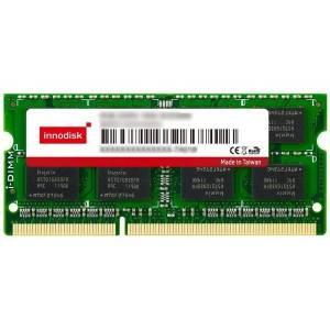 M3SW-2GMJCIN9-K 2GB DDR3 SODIMM 1333MHz Industrial Innodisk Memory 256Mx8, Wide Temperature -40..+80C