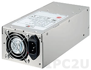 ZIPPY P2H-6400P-EPS 2U AC Input 400W ATX Industrial Power Supply, EPS12V, with Active PFC, RoHS