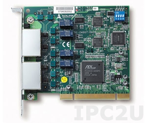 PCI-7854 Dual HSL master controller with four separate connectors