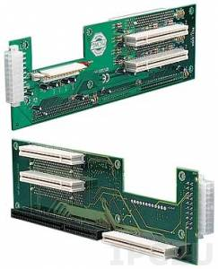 PCI-5SDA-RS 2U 1xPICMG, 4xPCI Slots ATX Butterfly Backplane, RoHS