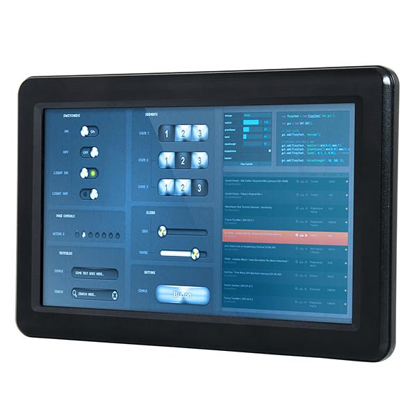 "PPC-090T-D2N4N Fanless Panel PC with 9"" TFT LCD, Touch Screen, Vortex86DX2 933MHz CPU, 1GB DDR2, SATA Slim slot, CF slot, 2xCOM, 3xUSB 2.0, PS/2, 1xLAN, Audio, 12-24V DC-In"