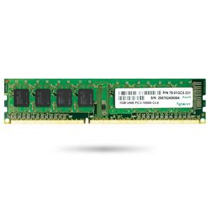 75.A83ET.G000C 2GB Apacer Memory DDR3 U-DIMM 1600MHz Non-ECC 256Mx8 1R Chip MC-K, Wide Temperature -40..+85C