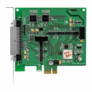 PCIe-8622 PCI Express, 200 kS/s, 16-bit, 16-channel Simultaneously Sampled Analog Input board with 2-channel 16-bit Analog Output and 12-channel Isolated DIO (RoHS)