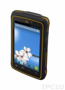 "E430RM4 4.3"" Rugged Handheld PDA, projective capacitive multi-touch, Cortex A7 1.5 GHz, 1GB SDRAM, 4GB eMMC, 1xSIM card, 1xMicro SD, 1xMicro USB, Bluetooth 3.0, Wi-Fi, GPS, 3G, Cameras 2MP & 8MP, Audio, 3.900mAh Android 4.2"