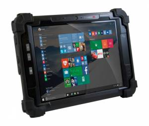 "PM-522. Rugged IP65 Pad, 10.4"" XGA, 1024x768, 350 or 700 nits, Intel Atom E3827 1.75 GHz CPU, 4GB RAM, 64GB SSD, 1xLAN (Mini USB adapter), 2xUSB, GNSS, Wi-Fi, BT, NFC, 2/5MP Cameras, Audio, 3800mAh Bat, Win Emb 8.1 Ind Pro Tablet"