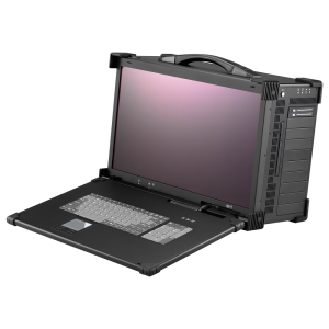 "iROBO-ARP690-FHD-A7M81 Industrie Portable Workstation, 21.5"" 1920x1080 TFT LCD, Intel Core i5-8500 3.5 GHz, Intel C246 Chipset, 8GB DDR4 RAM (max.64GB), 128GB SSD, 2xGbit LAN, 1xCOM, 8xUSB, M.2 2230,1xPCIe x16, 1xPCIe x4, 3xPCIe x1, 2xPCI, PS2 650W PSU"