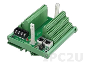 HSL-TB32-U-DIN 32 Channels Terminal Base for HSL I/O Modules