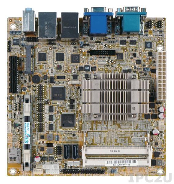 KINO-ABT-i2-N29301-R10 Mini-ITX SBC supports Intel Celeron Quad-Core Processor N2930(7.5W), VGA/HDMI/iDP, Dual Intel PCIe GbE, USB 3.0, SATA, HD Audio, iRIS-2400 and RoHS