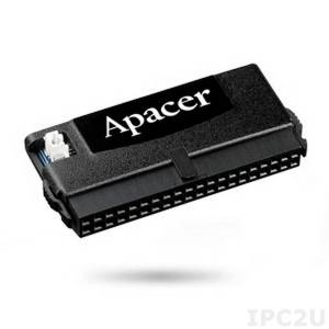AP-FM008GED0S5S-QTW1H APACER Disk on module, IDE 40pin, 8Gb, SLC, vertical, housing, 20pin unblocked, operating temperature -40..85C