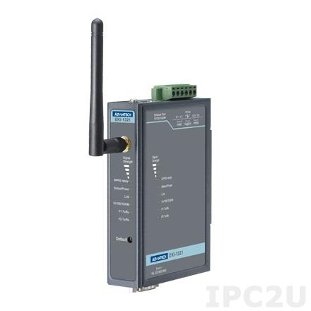EKI-1321-AE 1-port RS-232/422/485 to GPRS IP Gateway