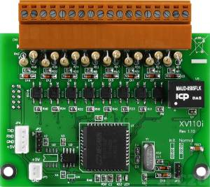 XV110 16-channel Isolated Dry and Wet Contact Digital Input Module With 16-bit Counters (RoHS) only for VPD-132 / VPD-132N / VPD-133 / VPD-133N