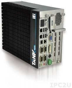 "TANK-860-HM86i-C/4G/6A Embedded System, Intel Core i5-4400E 2.7 GHz, Intel HM86, 4GB DDR3 RAM, VGA/DVI-I/DisplayPort, 2x LAN, 4xCOM, 6xUSB , 3 x PCIe and 3 x PCI, 2x 2.5"" SATA HDD Bay, CFast, mSATA, Audio, iRIS-2400 optional, -20...+70C, 9 V~36 V DC"