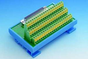 ADAM-3962-AE DB62 Cable Wiring Terminal for DIN-Rail Mounting