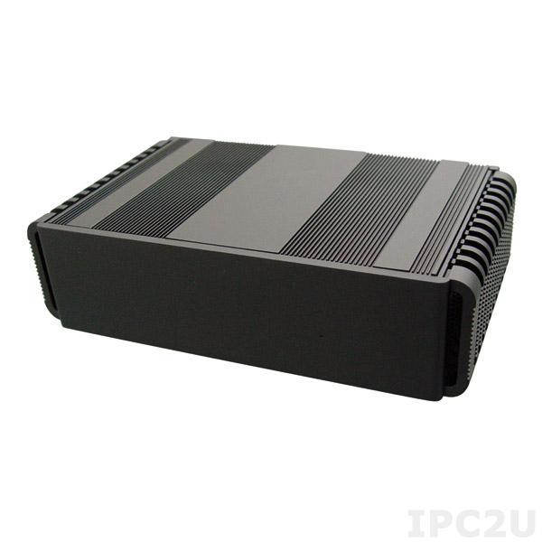 "TT2640-00C Twitter Embedded Server, 3I847A-3C4 CPU card with Intel Celeron 1047UE 1.4GHz, 1xDVI, 1xHDMI, 1xVGA, 2xGbit LAN, 4xUSB, 2xCOM, mSATA Full-Size, Mini-PCIe Full-Size, 1x2.5"" HDD Drive Bay, External Power Adapter"