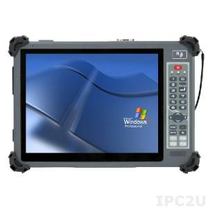 "G1052CS 10.4"" Rugged Tablet PC with Intel Celeron N2930 1.83GHz CPU, Projected Capacitive Touch Screen with sunlight readable, 2GB DDR3L, 32Gb SSD, 1x SD/SDHC/SDXC, 2xUSB, WLAN, Bluetooth, 1x 2500mAh battery pack, power adapter 100-240V AC"