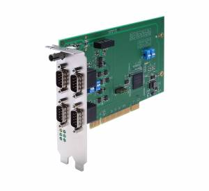 DA-IRIG-B-S-04-T IRIG-B Expansion Module, PCI Interface, 1 Fiber IRIG-B in, 1 DB9M In/Out, 1 DB9M Out
